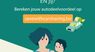 Lara bespaart jaarlijkse € 2.000, en jij? Test savewithcarsharing.be